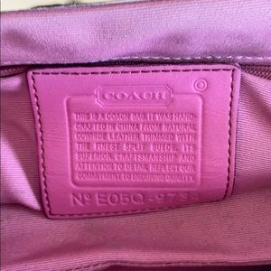 Coach Bags - Coach authentic wear on front swead